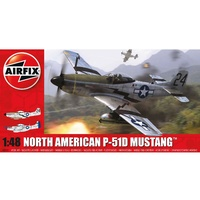Airfix - 1/48 North American P51-D Mustang