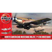 Airfix - 1/48 North American Mustang Mk.IV W/RAAF Decals