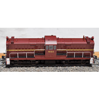 Austrains - Nswgr 41 Class Indian Red