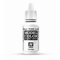 Vallejo Model Colour Gloss White 17 ml