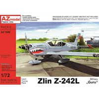 AZ Models AZ7608 1/72 Zlin Z-242L Military Plastic Model Kit