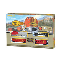 Bachmann - Santa Fe Flyer HO Train Set