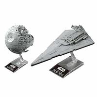 Star Wars - Death Star and Star Destroyer