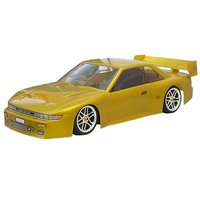 Bodyworx - 1/10 Body Nissan Silvia clear 195mm