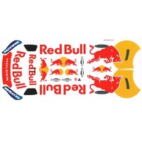 Bodyworx - 1/10 Red Bull Sticker Sheet