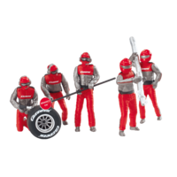 Carrera - Pit mechanics 5 piece set