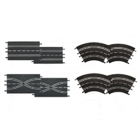 Carrera - Extention Track Set (8 Pce)
