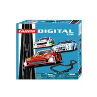 Carrera Digital - DRM Retro Race Slot Car Set w/3xCars