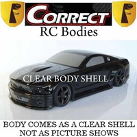 Correct Models - 1/10 Body Mustang 2012 clear