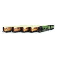 Dapol - N LNER AI Flying Scotsmann W/4 Teak Coaches