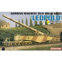 Dragon - 1/144 German 28cm K5(E) Leopold