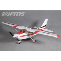 FMS - Cessna 182 1100mm - PNP Red