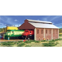 Frateshi - Engine Shed - Old Style Two Stall Kit - HO