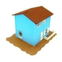 HO Two Storey House Kit