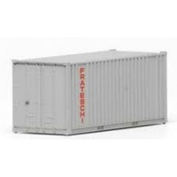 HO 20 Ft Iso Container - Gray