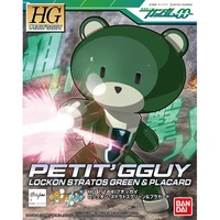 Gundam - HG 1/144 PETIT'GGUY LOCKON STRATOS GREEN