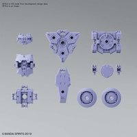 Bandai - 30MM 1/144 Option Armor For Spy Drone Rabiot Exclusive Purple