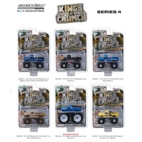 Greenlight - 1/64 Kings of Crunch Series 4 assorted