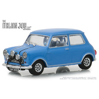 Greenlight - 1/43 1967 Austin Mini Cooper S Italian Job Blue