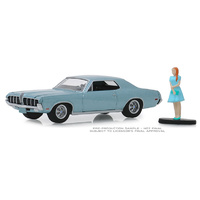 Greenlight - 1/64 The Hobby Shop Series 7 - 1970 Mercury Cougar