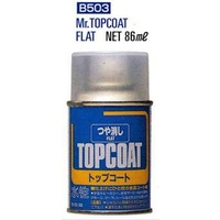Mr Topcoat Flat Spray