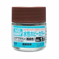 Mr Hobby - Aqueous Gloss Cocoa Brown - Acrylic 10ml