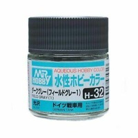 Mr Hobby - Aqueous Gloss Field Grey - Acrylic 10ml