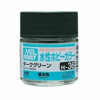 Mr Hobby - Aqueous Gloss Dark Green - Acrylic 10ml