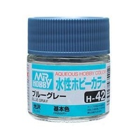 Mr Hobby - Aqueous Gloss Blue Grey - Acrylic 10ml