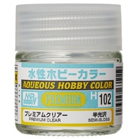 GSI - Aqueous Hobby Colour - Premium Clear (Semi Gloss) 10ml