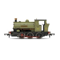 Hornby - Peckett B2 Class, 0-6-0ST, No.4 (Sherwood Colliery Co. Ltd)