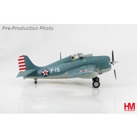 "Hobby Master - 1/72 Grumman F4F-3 Wildcat ""White F-15"" LTCDR Edward H. ""Butch"" O'Hare VF-3"