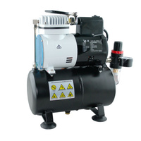 Air Compressor W/Fan And Tank