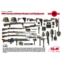 ICM - 1/35 WWI German Infantry Weapons & Equipment