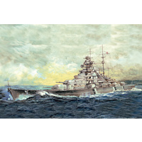 I Love Kit - 1/700 German Battleship Bismarck