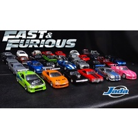 JADA - 1/32 Asst Fast and Furious Cars