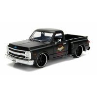 Jada - 1/24 Primer Black 1969 Chevy C10 Stepside