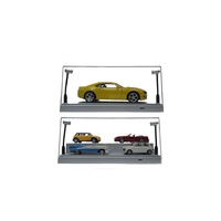 1/24-1/43 Silver BASE DISPLAY CASE