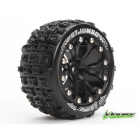 "Loiuse - Rim and Tyre Jumbo 2.8"" BLK 1/2OS"