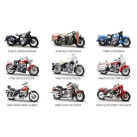 Maisto - 1/24 Harley Davidson Motorcycle assortment 1pc