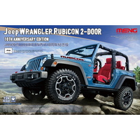 Meng - 1/24 Jeep Wrangler Rubicon (10th Anniv. Edition)