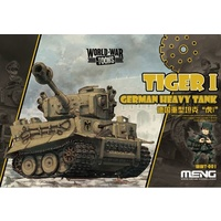 Meng - World War Toons Tiger Tank