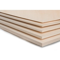 Aircraft Grade Birch Plywood - 3mm 1200 X 300mm (6 Ply)