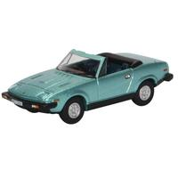 Oxford - 1/76 Triumph TR7 Convertible Persian Aqua Metallic