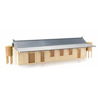 RailCentral - HO NSWGR Large Town COuntry Station 200mm - P3 - Pre-Built