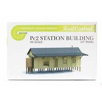 RailCentral - HO NSWGR Small Town Country Station Kit 140mm - PC2