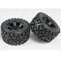 Rovan - Wheels and tyres 6 spoke 2pc