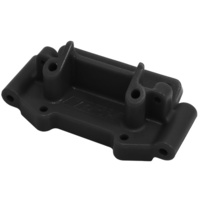 Rpm - Black Front Bulkhead For Most Traxxas 1/10 2Wd