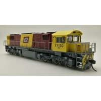 Wuiske - QR 2100 CLASS DRIVER ONLY CORPORATE LIVERY #2113D HO (16.5mm GAUGE)