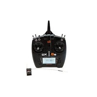 Spektrum Dx6E Dsm-X 6 Channel Transmitter W/Ar610